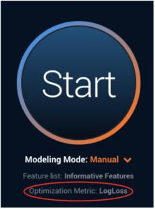 Start Predictive Modeling