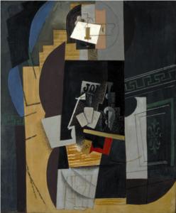 L'Homme aux cartes - Pablo Picasso