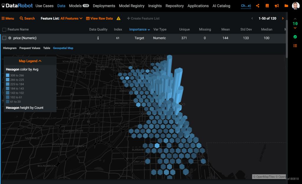 Exploratory Geospatial Visualization