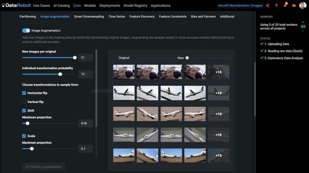 Visual AI Image Augmentation