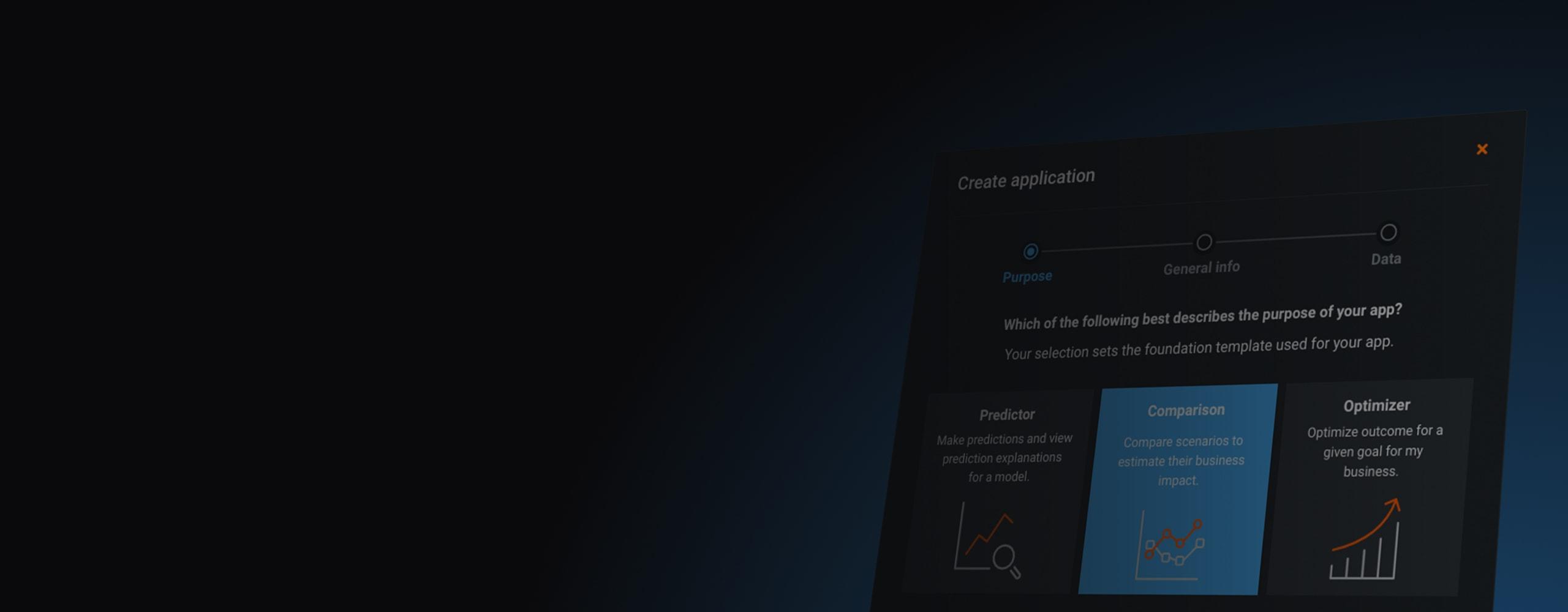 No Code App Builder hero banner