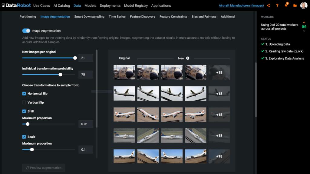 Visual AI の画像オーグメンテーション